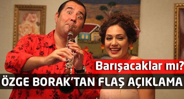 Özge Borak'tan flaş Ata Demirer açıklaması! Barışacaklar mı?