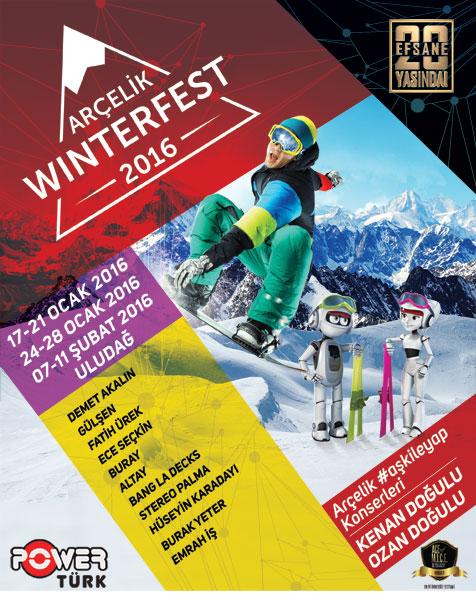 Arçelik Winterfest 2016